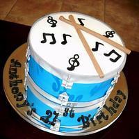 Drum Cake!