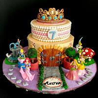 Princess Theme in Buttercream