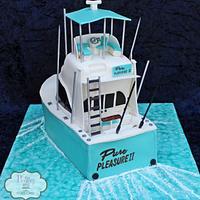 Shrimp Boat Grooms Cake