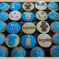 Baby Shower Cupcakes for Jayden