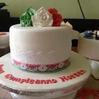 Italian Themed cake