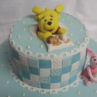 Baby Naming ceremony cake