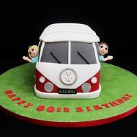 Camper Van Novelty Cake