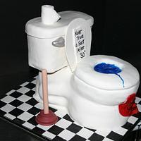 Toilet Cake