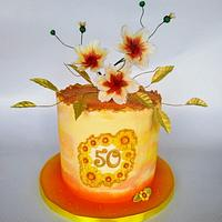 Cake for the 50th anniversary