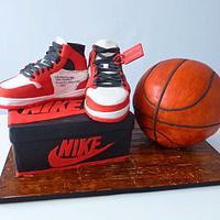 Air Jordans 1 - Basketball cake