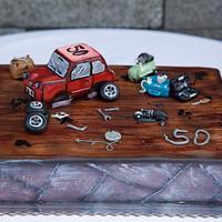 cake for mechanic