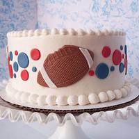 football birthday by Corrie