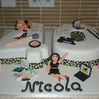 special 40th cake