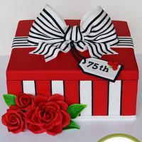 Striped Present Box