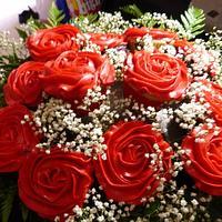 Valentine Cupcake Bouquet by kiki