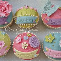 Personalised Cupcake Favours