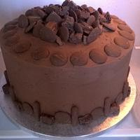 Another Very Chocolatey Cake for a 40th birthday
