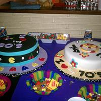 70's & 80's Theme Birthday Cakes