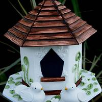 Bird House Hang Cake
