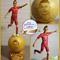 Ronaldo - Cake International Gold Award