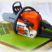 Chainsaw Cake by Janice Baybutt