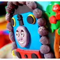 Thomas the train 2nd birthday by Lainie
