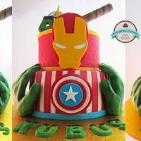 Avengers' cake