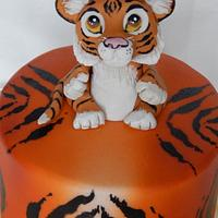 Little Tiger cake
