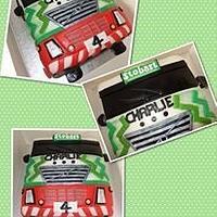 Eddie Stobart truck/Lorry cake