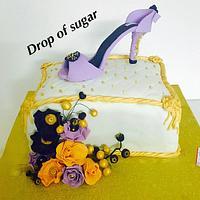 Elegant Princess Cake