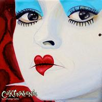 Hand-Painted Red Queen