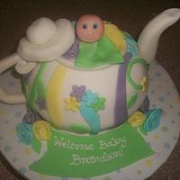 Teapot Baby Shower
