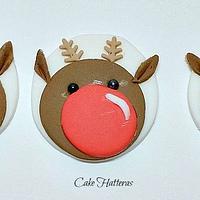 Reindeer Cupcake Topper