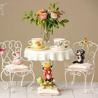 Whimsical Tea party on the Patio