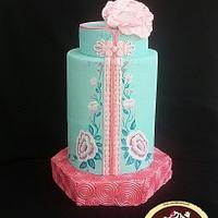 Chinese New Year Cake Collaboration- Cheongsam / Qibao