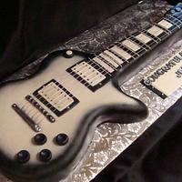Black & White Electric Guitar