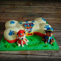 Paw Patrol's Chase and Marshall