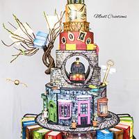 Harry Potter Big cake
