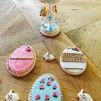 My Easter 3D cookies