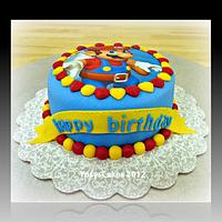 Mario Bross Cake by Yusy Sriwindawati