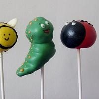 Insect cake pops