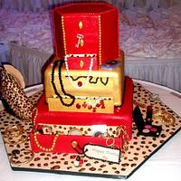 Sweet 16 Fashion Diva Cake