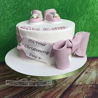 Riona Marie - Christening Cake