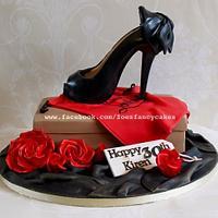 Shoe birthday cake!