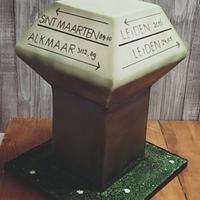 A special weddingcake