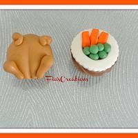 Turkey Feast Cupcakes
