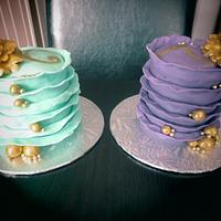 Twin mini cakes