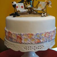 Retirement Cake by Nancy T W.