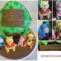 Winnie the Pooh Treehouse Giant Cupcake