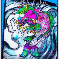 Coy Dragon Fish