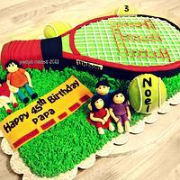 Wilson Tennis Cake