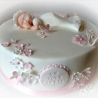 baby girl christening