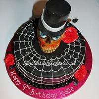 Ed Hardy Style Cake by Stef and Carla (Simple Wish Cakes)