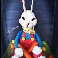 Bunny cake 🐇